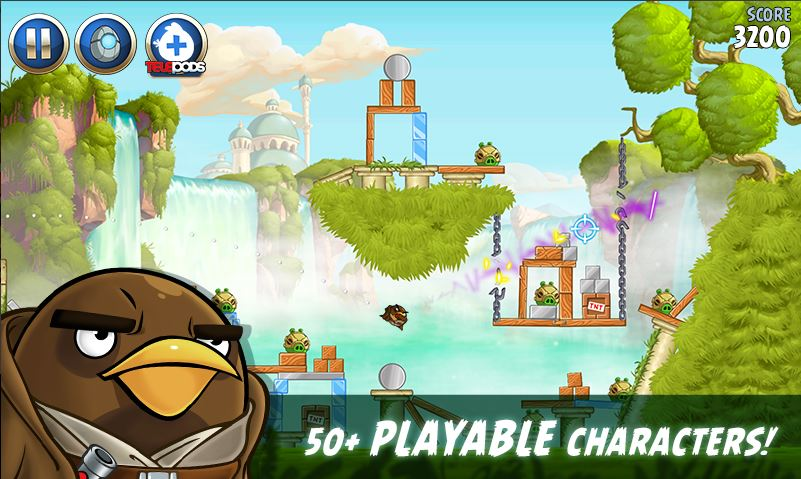 download Angry Birds Star Wars 2 Mod apk 3