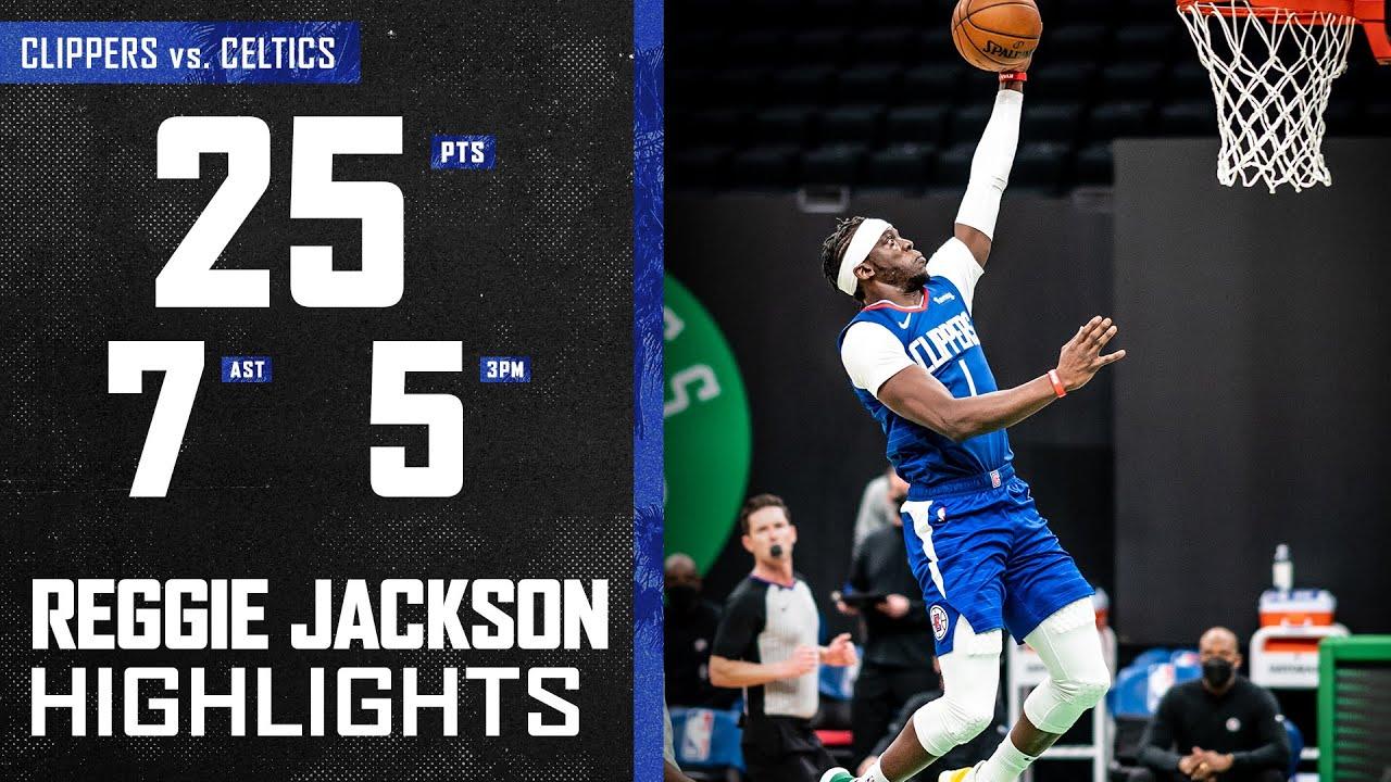 Reggie Jackson 25pts 7ast vs BOS | March 2, 2021 | 2020-21 NBA Season