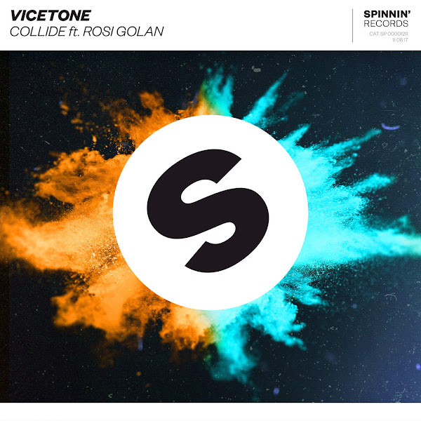 Vicetone - Collide (feat. Rosi Golan) - Single Cover