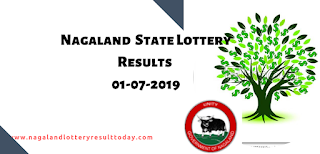 Nagaland State Lottery 01-07-2019
