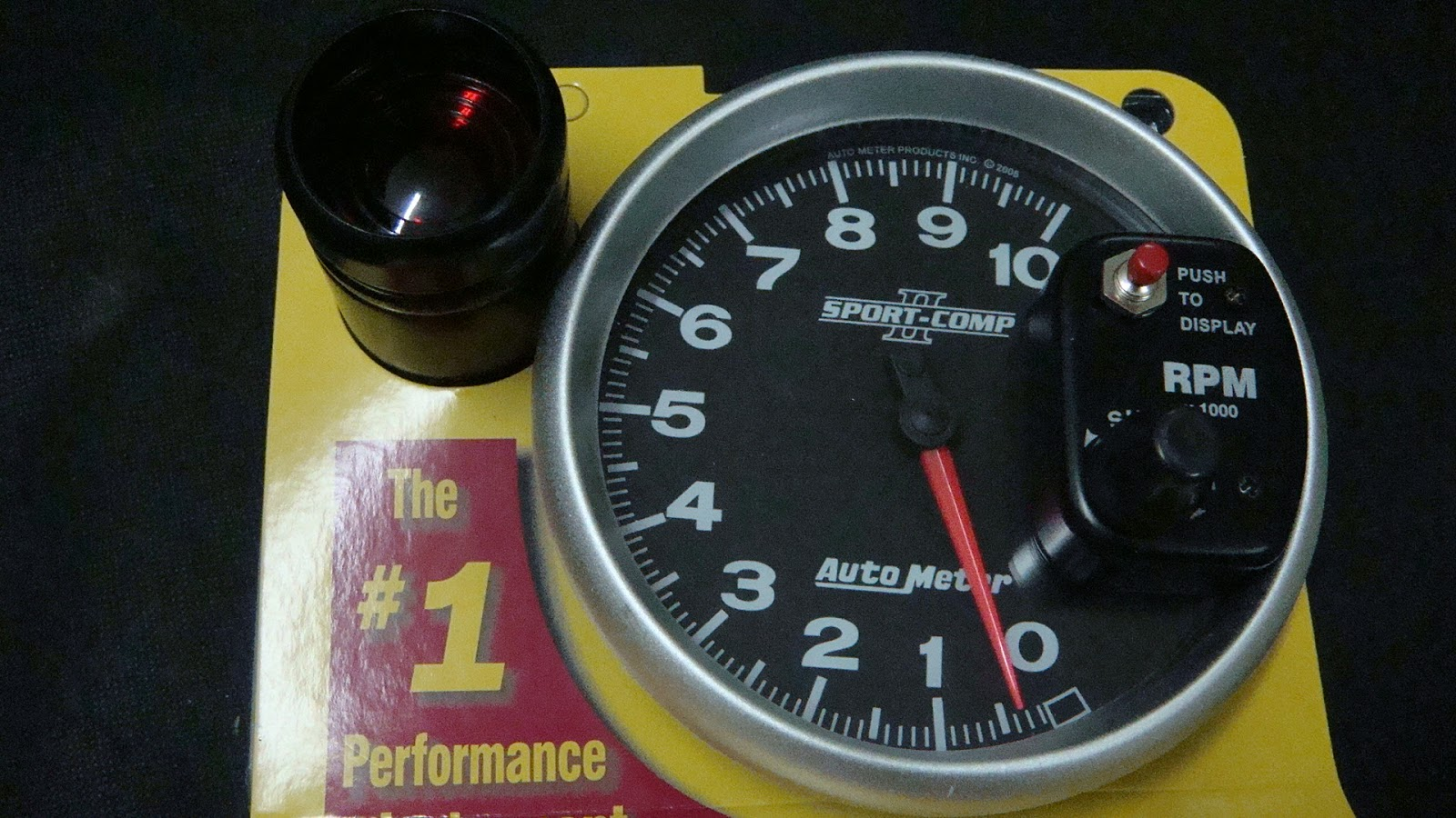 Myitems: Autometer 5'' Monster Rpm