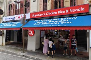 Hawker Chan, Chinatown, Singapur o Singapore.