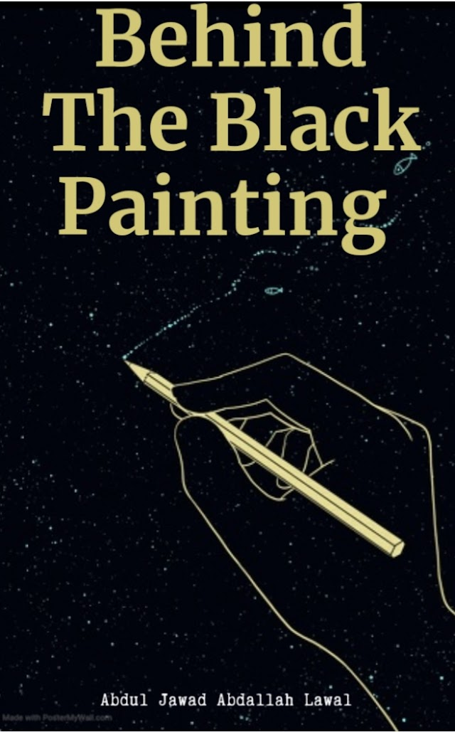 BEHIND THE BLACK PAINTING || JAWAD LAWAL