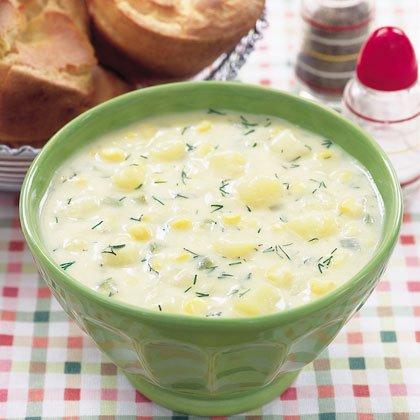 Creamy Corn and Potato Chowder Recipe
