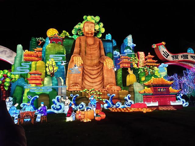 Festival Lanternes Gaillac Blog Hélidée Bouddha Géant