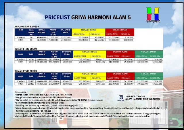 Griya Harmoni Alam 5