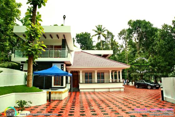 Finished villa home in Kerala