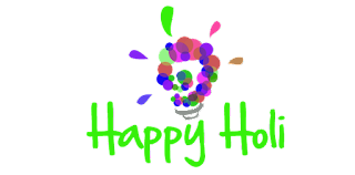 Happy Holi Png, Text Holi Png