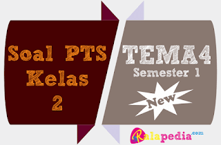 Contoh Latihan Soal PTS Tema 4 Kelas 2 SD Semester 1 K13