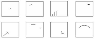 Contoh soal psikotes gambar Wartegg 8 kotak