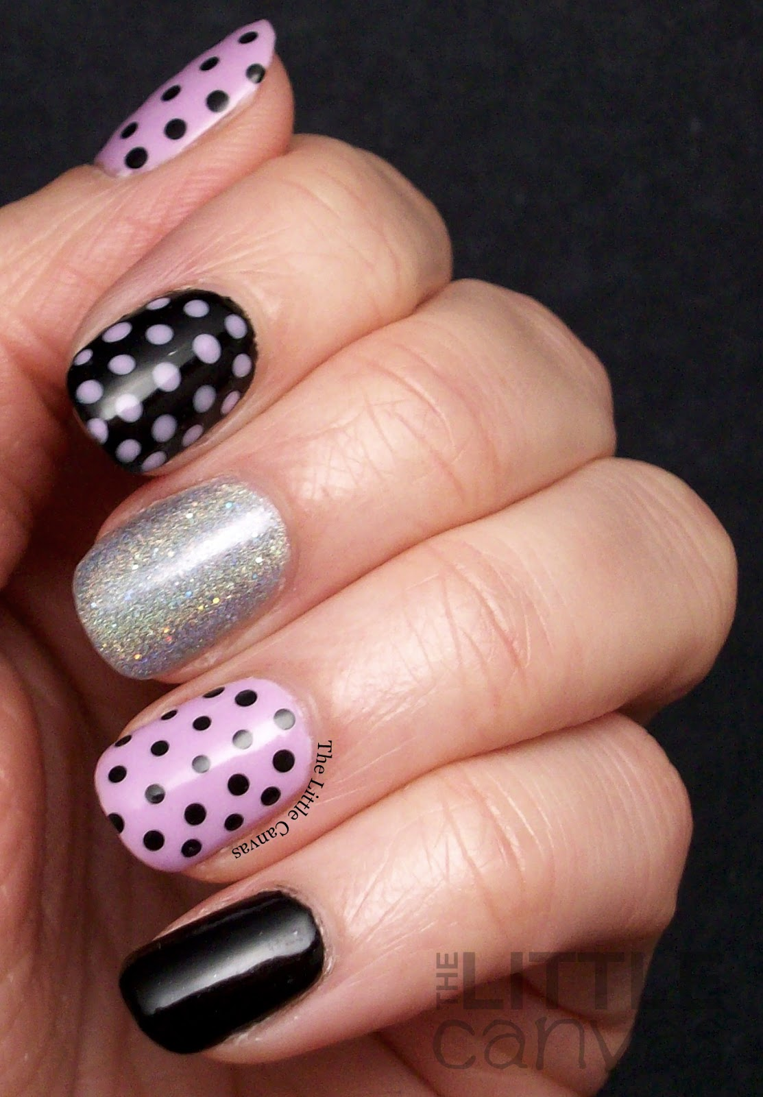 The One With the Dotticure and ORLY As Seen On TV - The Little Canvas