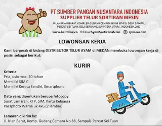 Lowongan Kerja Medan Sma Smk Terbaru Februari 2021 Di Pt Sumber Pangan Nusantara Indonesia Lowongan Kerja Medan Terbaru Tahun 2021
