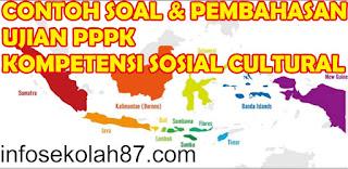 Contoh Soal dan Pembahasan PPPK 2021 Kompetensi Sosial Cultural