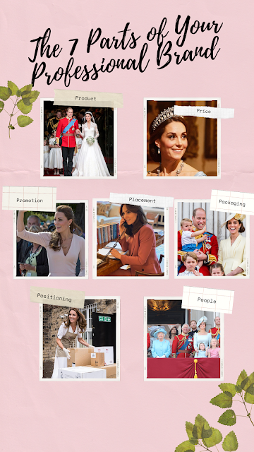 The 7 Parts of Professional Branding with Kate Middleton