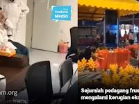 Lihatlah, Pedagang di Wuhan Frustasi Dagangan Tak Laku, Para Dokter Stres Harus Bekerja Tanpa Henti