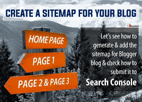 Creat Sitemap For Blogger Blog and Website