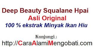 Serum penghilang keriput deep beauty squalane original obat jerawat pemutih wajah