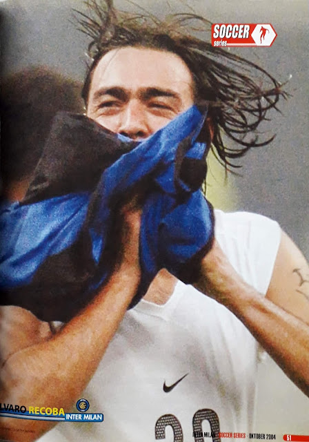 ALVARO RECOBA OF INTER MILAN