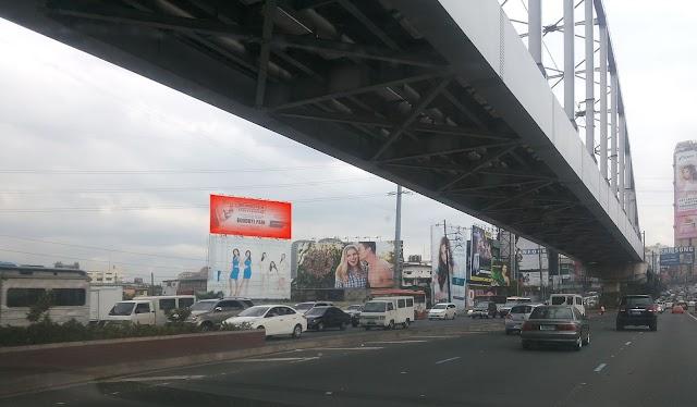EDSA Guadalupe Barangka billboard view in 2015