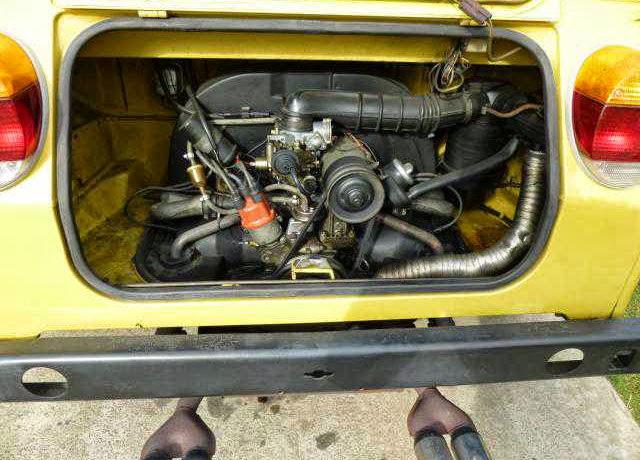 1973 Vw Thing Original Yellow Buy Classic Volks