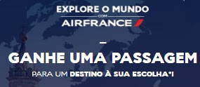 Cadastrar Promoção Air France 2017 Explore Mundo Passagem Sua Escolha