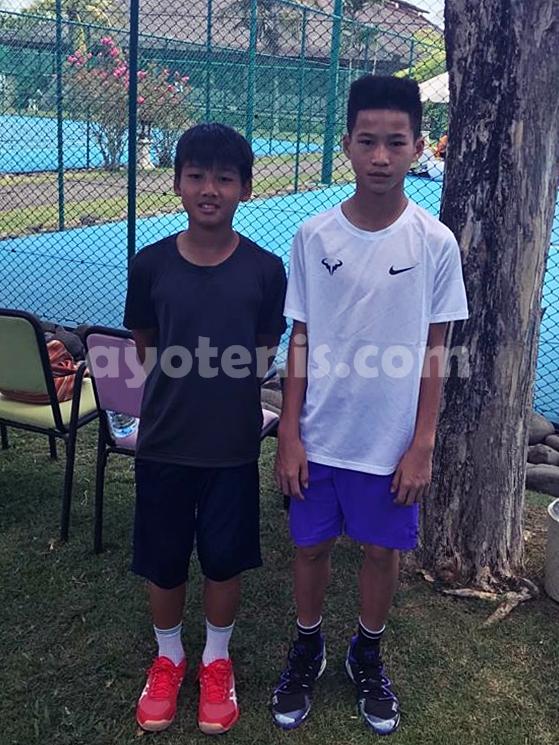 Turnamen Tenis Internasional Les Petits As Asia: Ingvar dan Jahfal Belum Terkalahkan dan Melaju ke Babak Berikutnya