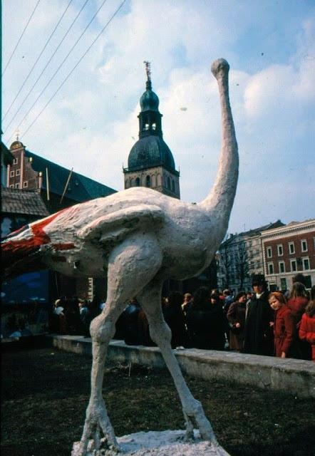 1980-е годы. Рига. Mākslas Dienas. Дни искусств