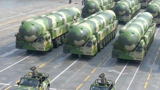 Cina Bangun 100 Lebih Silo Rudal Balistik 'Nuklir' yang Mampu Jangkau AS