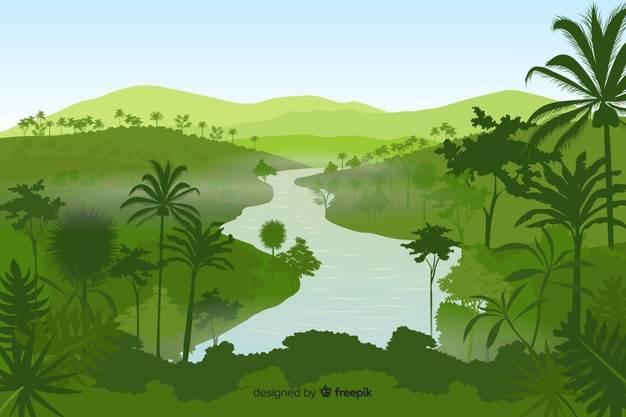 Mengerikan! Inilah 10 Sosok Hewan Penghuni Hutan Sungai Amazon