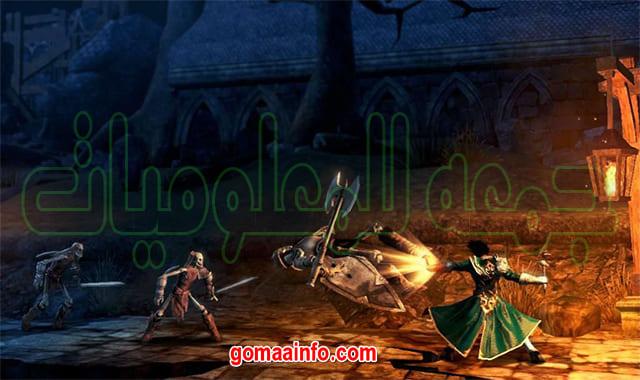 تحميل لعبة الأكشن الشهيرة  Castlevania Lords of Shadow Mirror of Fate HD