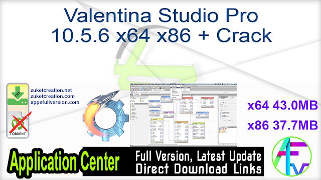 Valentina Studio Pro 10.5.6 x64 x86 + Crack