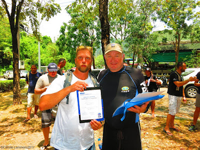 Testimonial by Hannu Orrenmaa of the March 2017 PADI IDC on Phuket, Thailand
