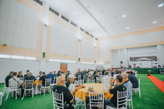 Majlis Reunion di MZ Rooftop Garden