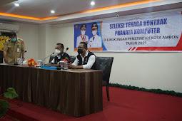 Benny Selano Ungkap Tahapan SKB Untuk 38 Calon Tenaga IT di Pemkot Ambon