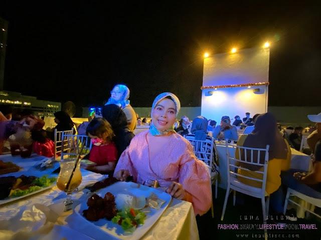 Ruang terbuka ATSKY Kota Damansara