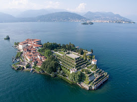 Isola Bella, with is elaborate palace and gardens, is an island in Lago Maggiore