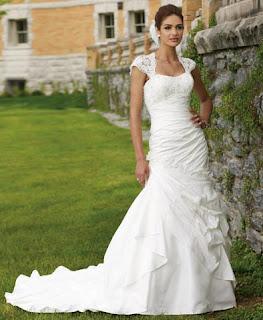 vestido de noiva sereia - looks, dicas e fotos