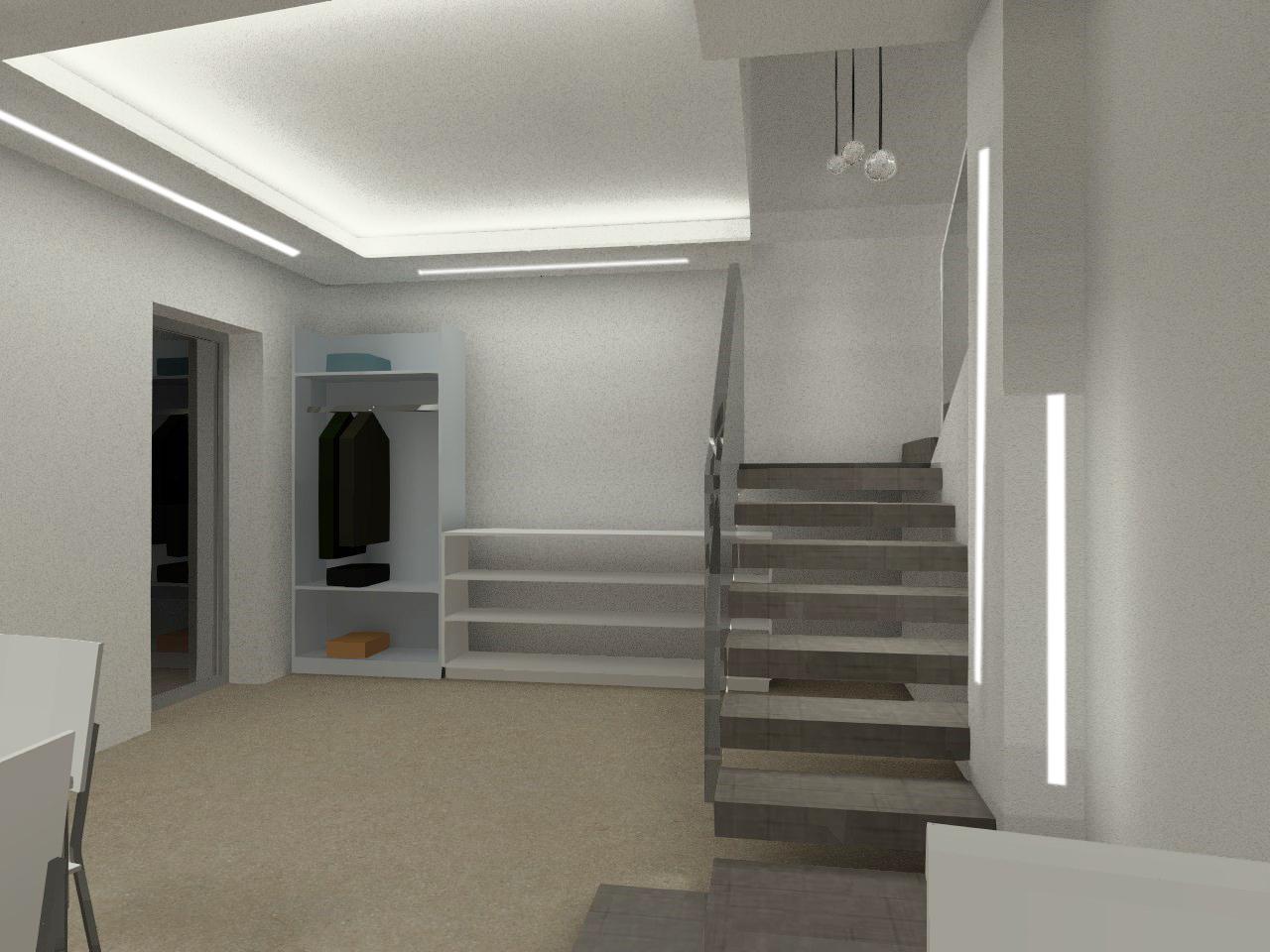 Illuminazione Ingresso Appartamento : Illuminazione led casa ristrutturare un appartamento l