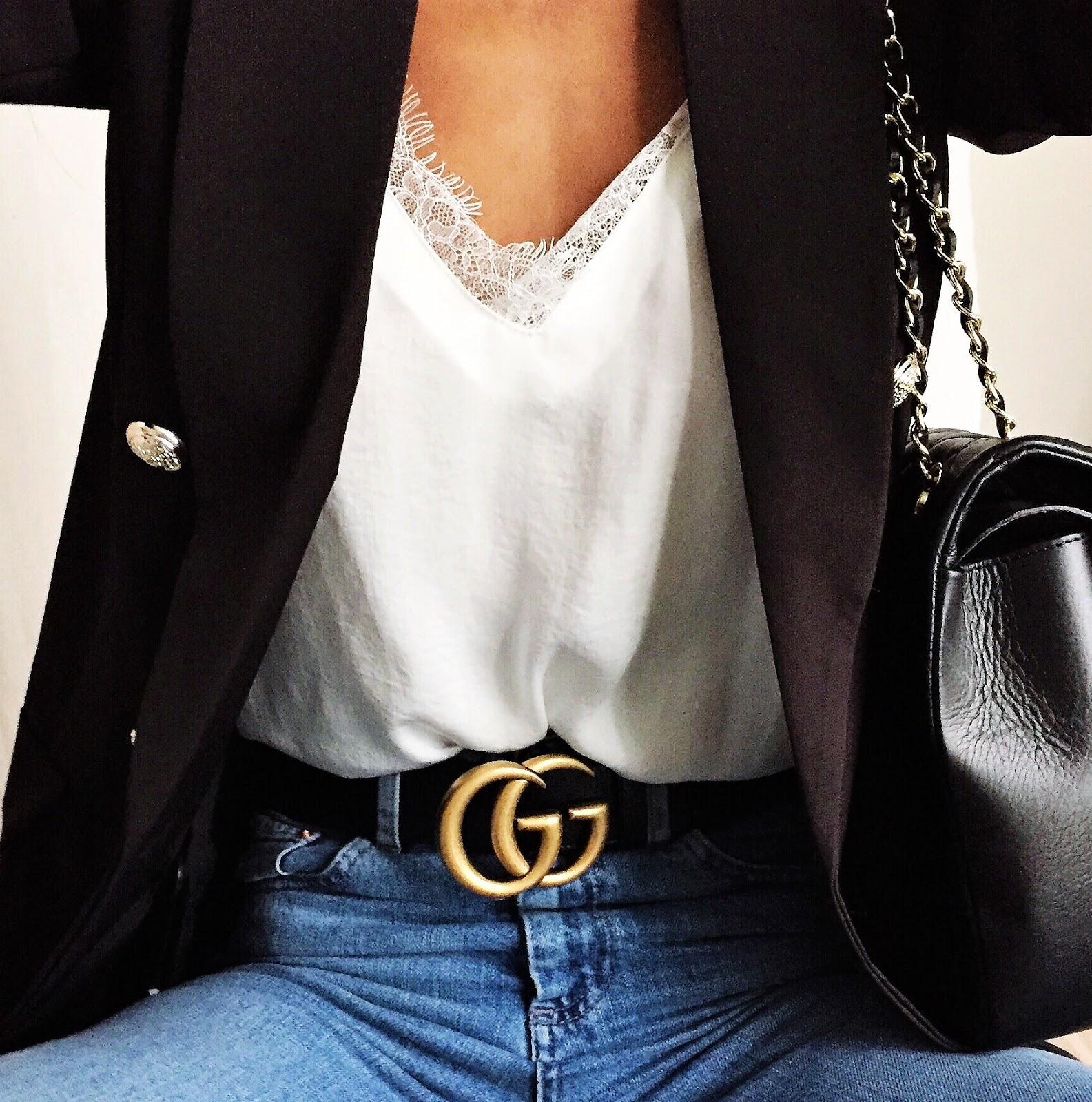 Pour celles qui se demandent si le cuir texturé + le bout de la ceinture  pointu ne sont pas des caractéristiques propres aux ceintures d hommes chez  Gucci ... fb7bc65465f