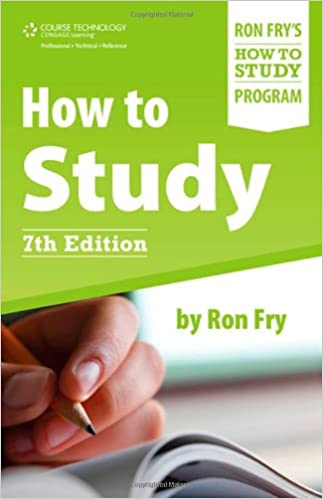 How to Study 7th Edition By Ron Fry