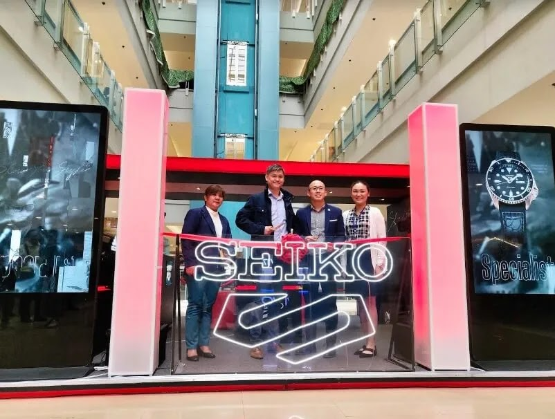 Seiko Philippines Pop-Up Store Opens in SM Megamall