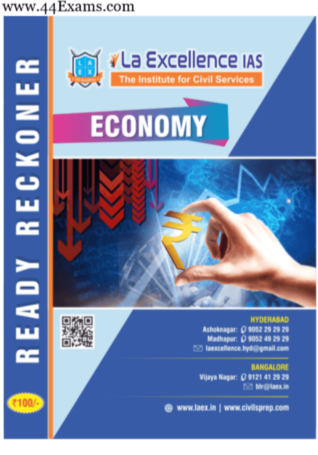 La-Excellence-Economy-For-UPSC-Exam-PDF-Book