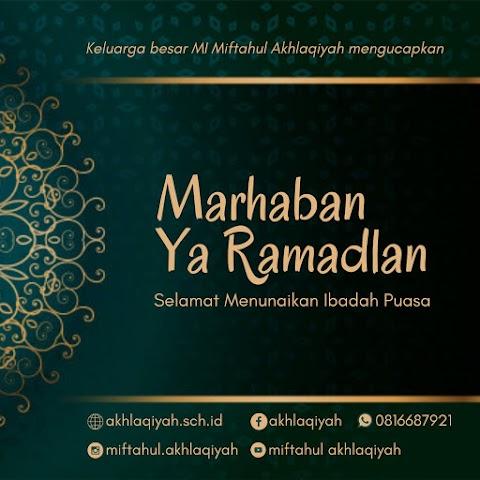 Ramadhan masih diselimuti pandemi
