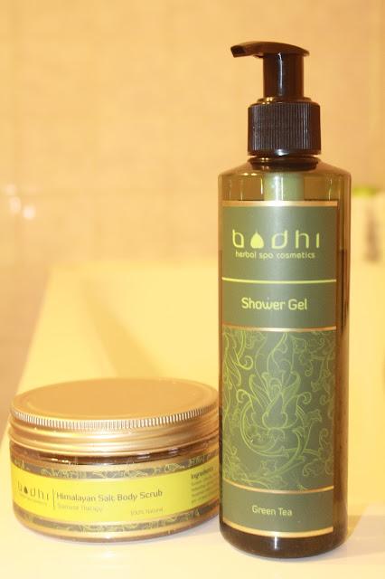 bodhi soins naturels cosmétiques thailande thailandais gommage huiles essentielles siamese sel himalaya gel douche thé vert