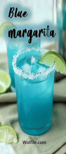 Blue Margarita Recipe #Drink