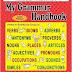 كتاب قواعد المرحلة الابتدائية العالمى My Grammar Handbook. Lower Primary by Leu Zenda