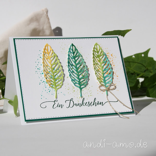 Karte Herbst Stampin Up Gorgeous Leaves
