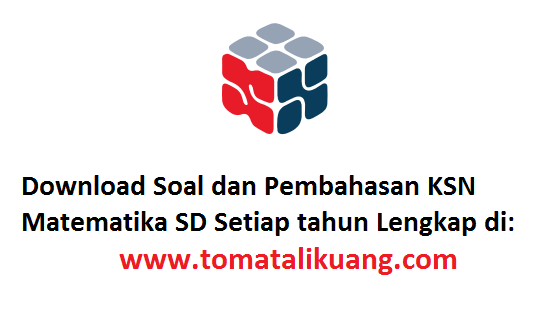 Soal Pembahasan Osn Ksn K Matematika Sd 2020 Kabupaten Kota Pdf Tomatalikuang Com Berita Pendidikan Terbaru