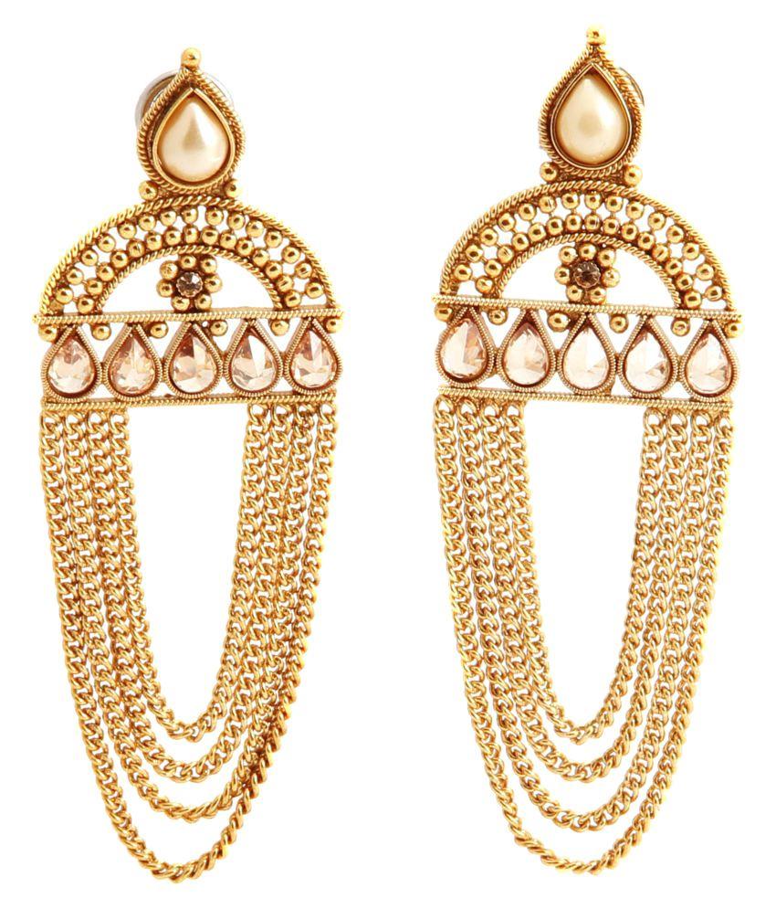 heavy-look-gold-earrings-jewelry-fashion