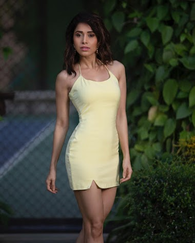 Nushrat Bharucha hot in yellow